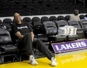 Kareem Coaching Lakers
