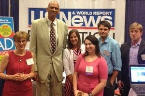 Kareem Abdul-Jabbar and U.S. News