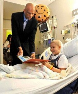 Kareem at Wolfson Children's Hospital 1