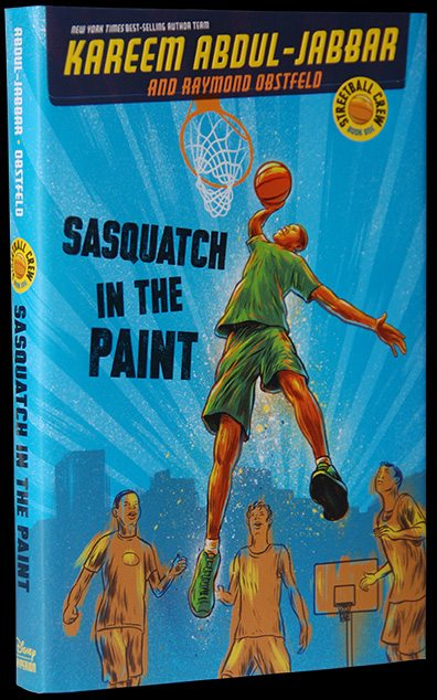 Sasquatch and the Paint Book Cover