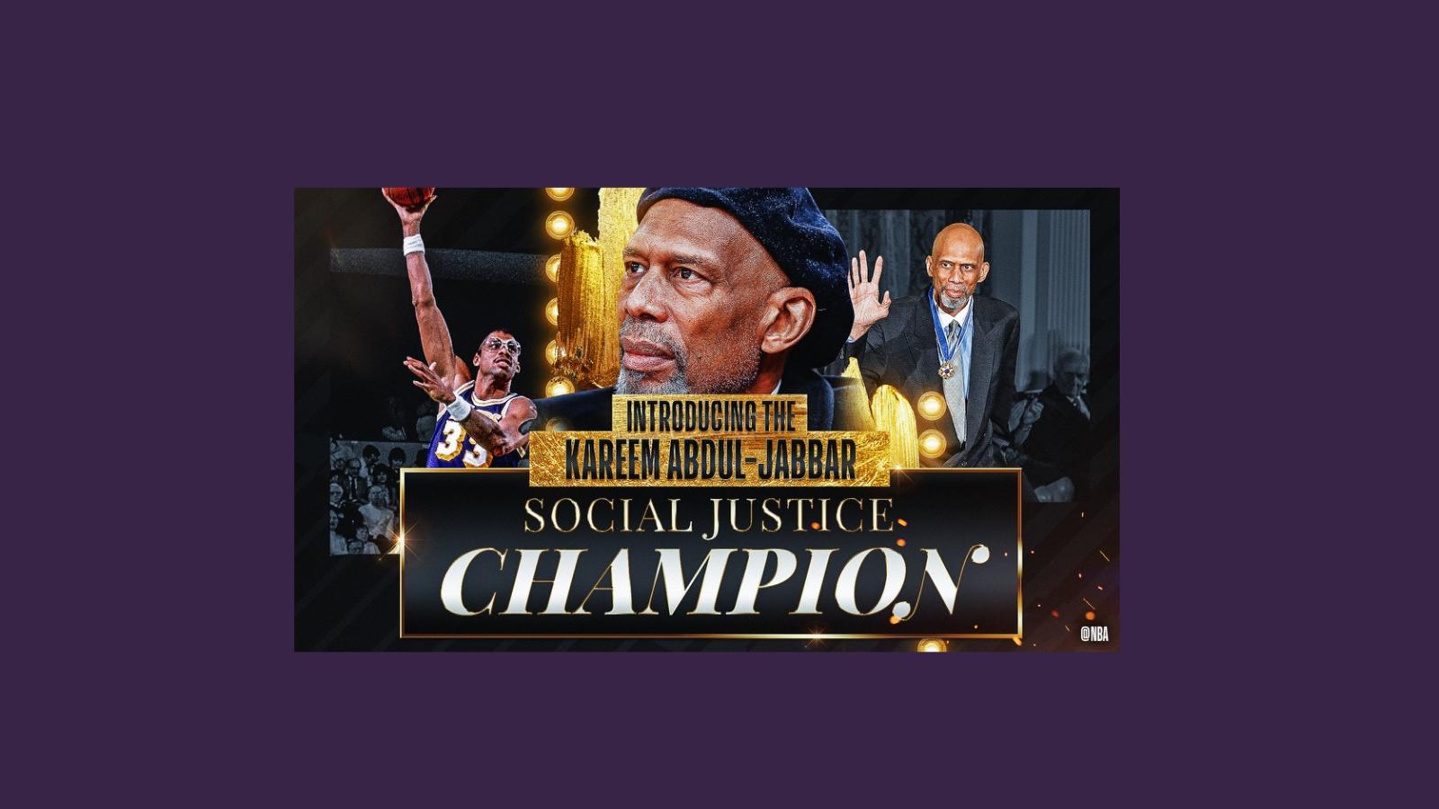 Kareem Abdul-Jabbar Social Justice Champion