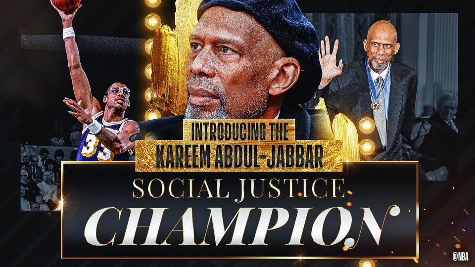 Kareem Abdul Jabbar Social Justice Champion