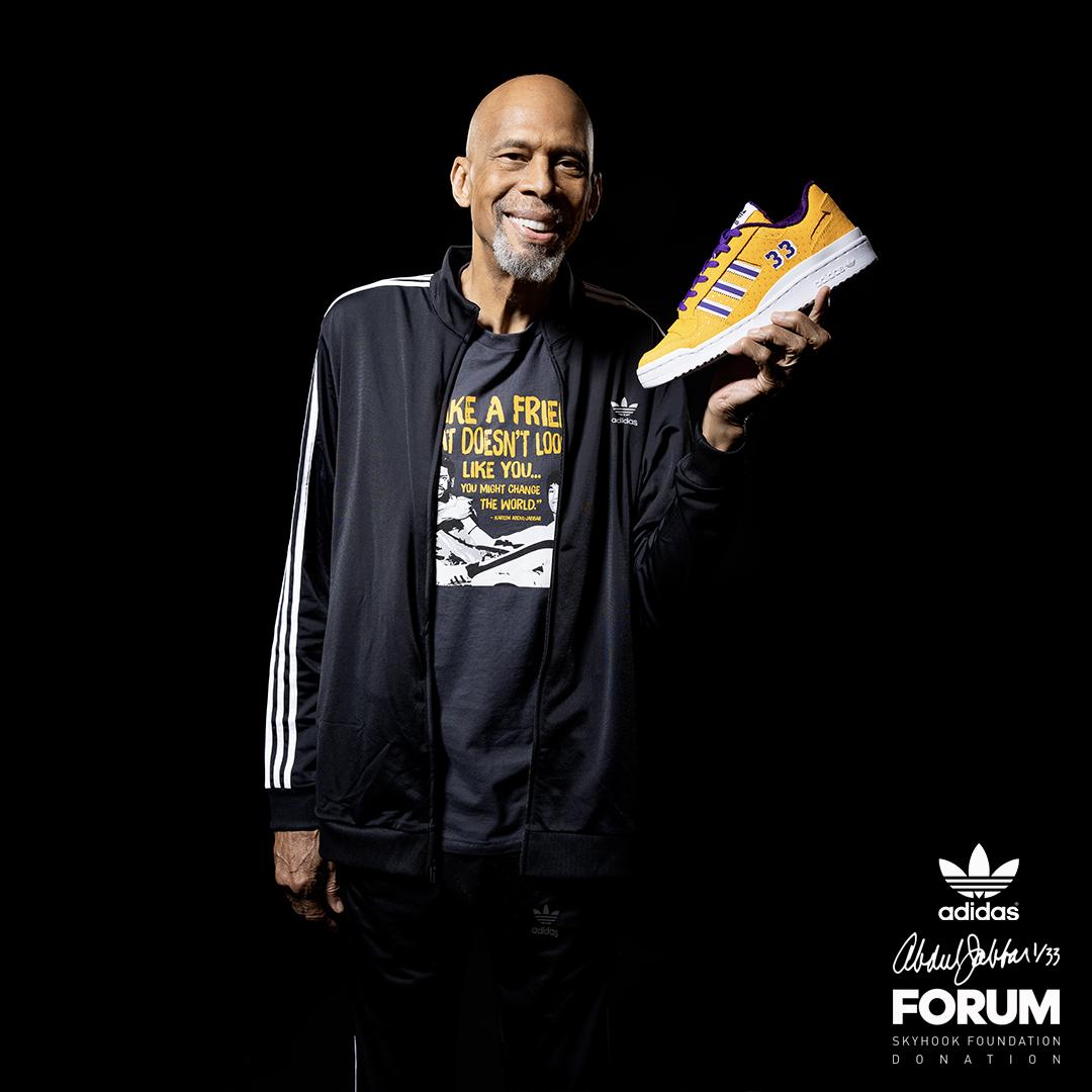 Kareem Adidas Forum 33 Pairs
