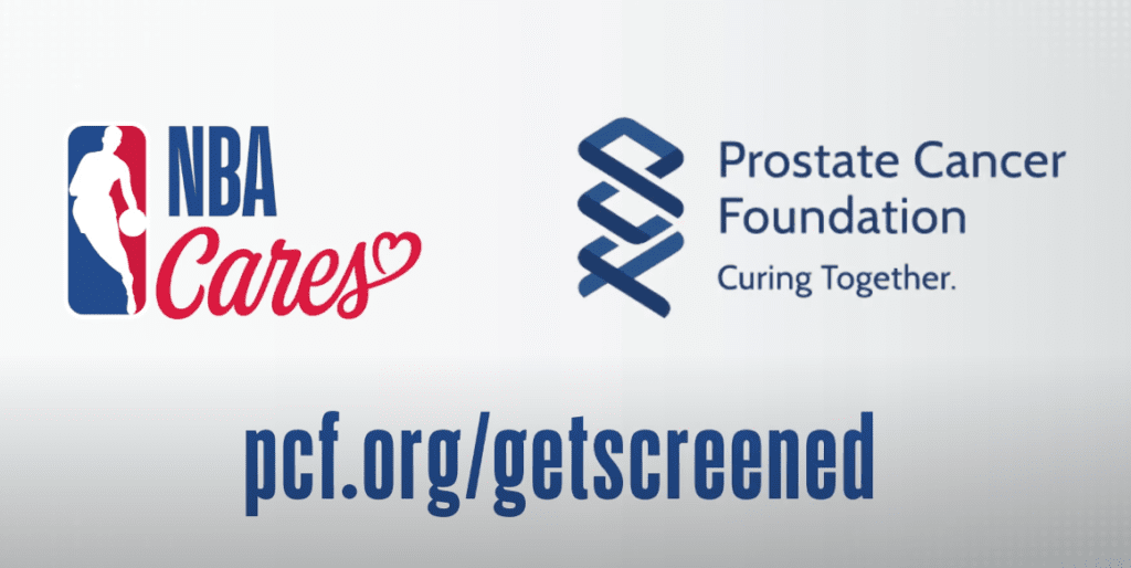 NBA Cares PCF Prostate Cancer Screening