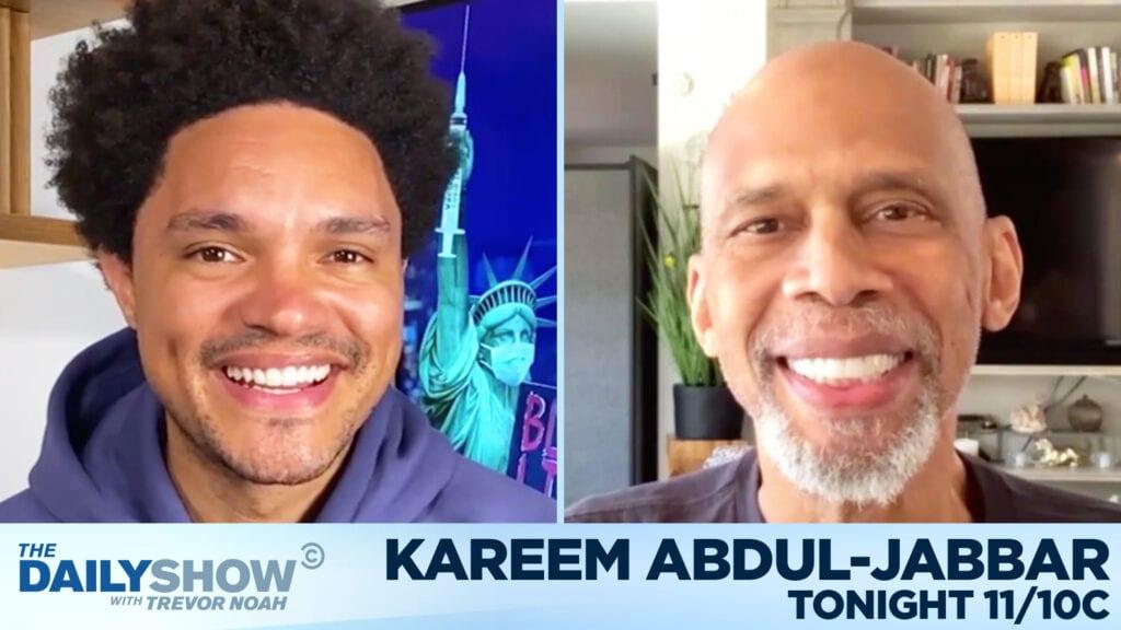 Kareem Abdul Jabbar Trevor Noah