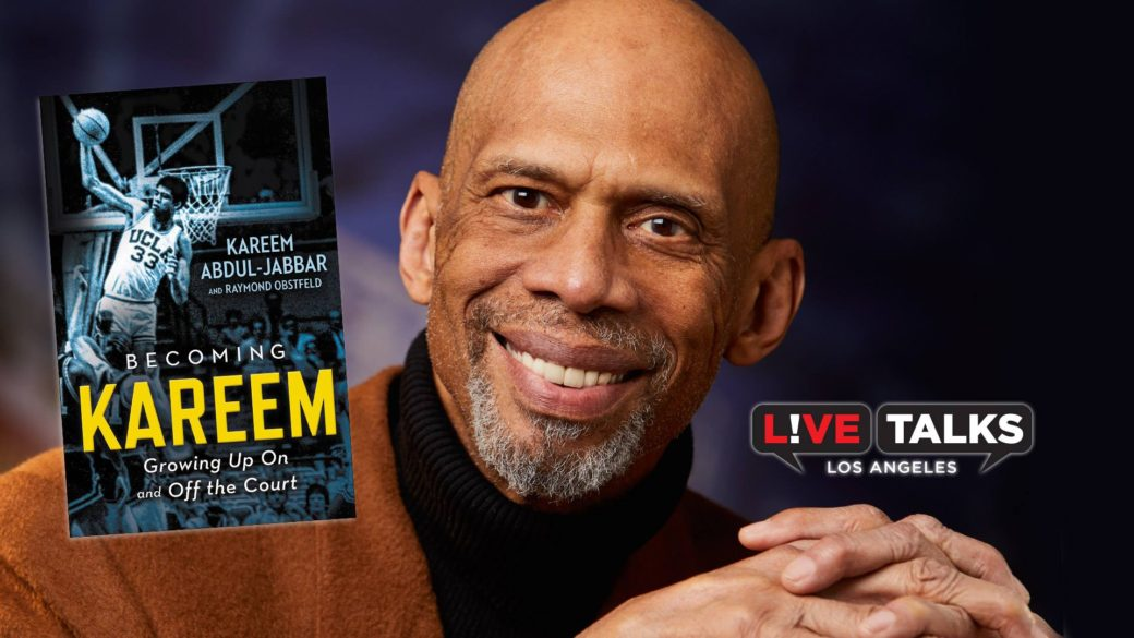 May 22, 2018- Fox Riverside Theater Foundation- LIVE TALKS, An Afternoon with Kareem Abdul-Jabbar discussing his book,