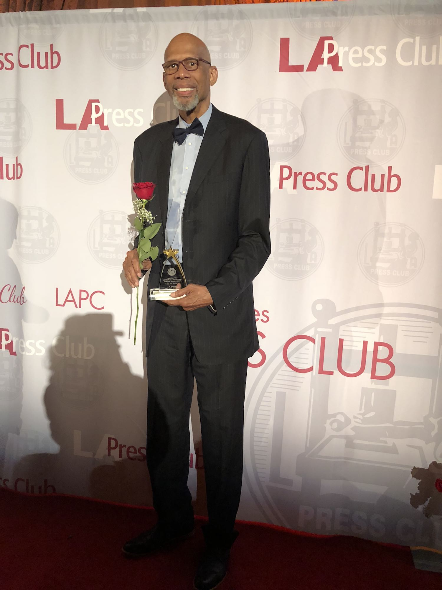 "Kareem Wins 2nd Straight ""Columnist of the Year Award"" at Los Angeles Press Club's 60th Annual ""Southern California Journalism Awards"""