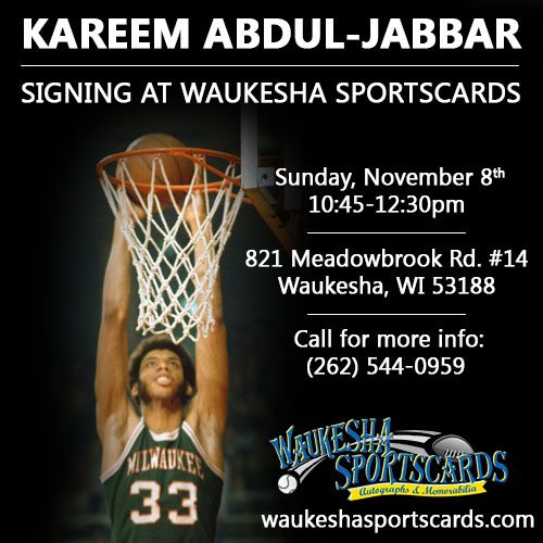 November 8, 2015 – Iconomy brings Kareem Abdul-Jabbar to Milwaukee for the first time in 15+ years