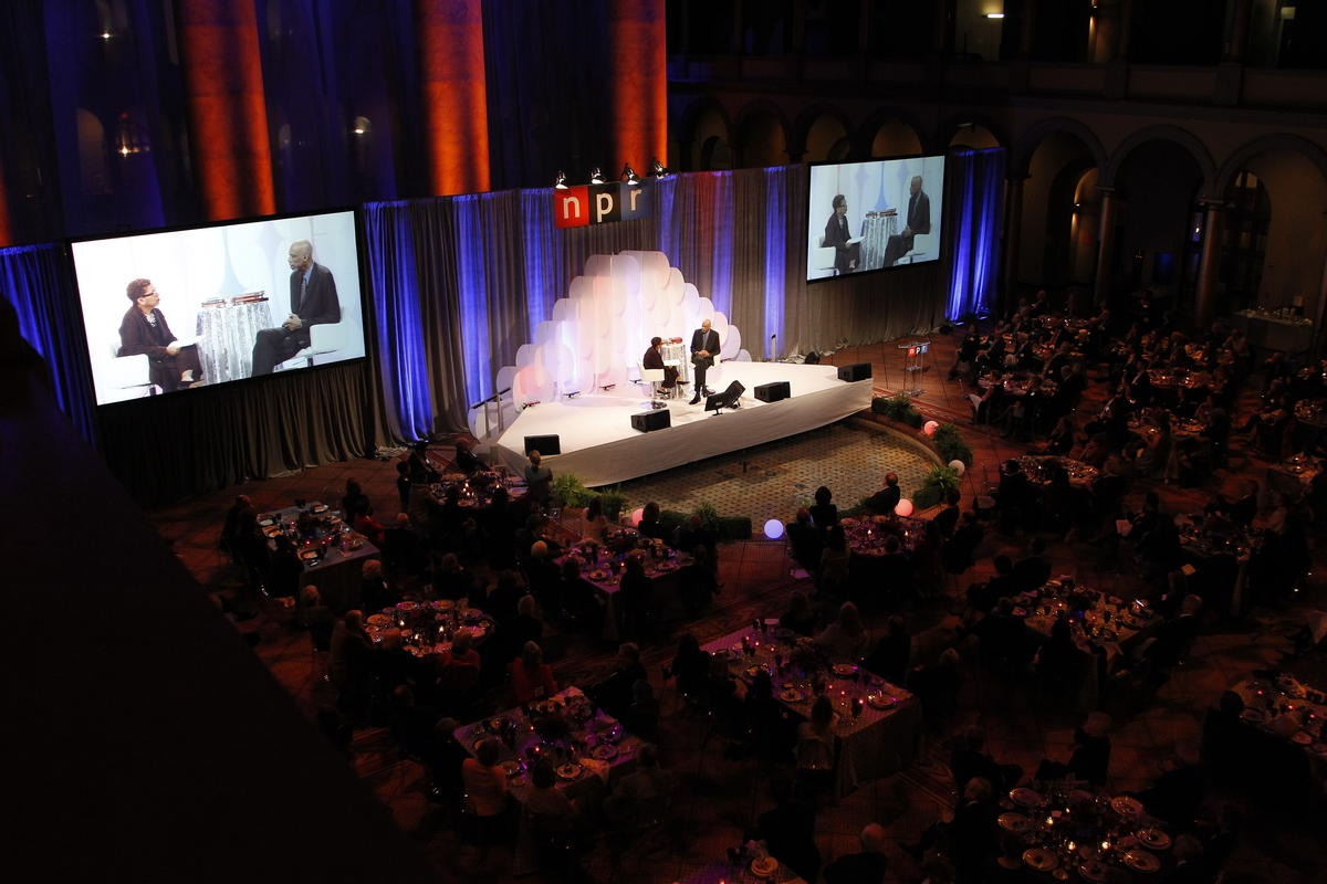The Opening Reception and Dinner: An Evening with Kareem Abdul-Jabbar on Friday, October 30, 2015 at the National Building Museum in Washington, DC. (Paul Morigi/AP Images for NPR)