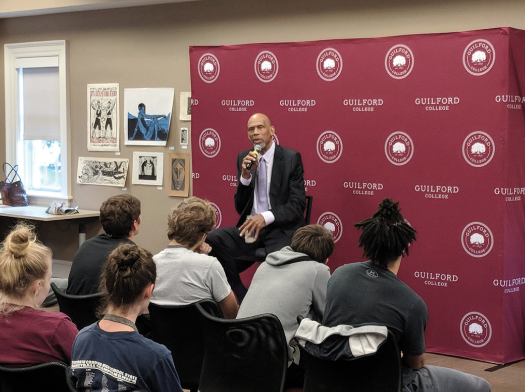Guilford College students excited for Kareem Abdul-Jabbar Bryan Series event