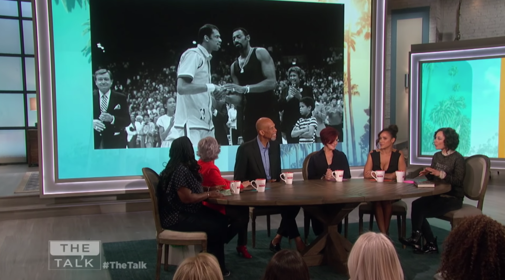 Kareem Abdul-Jabbar visits The Talk