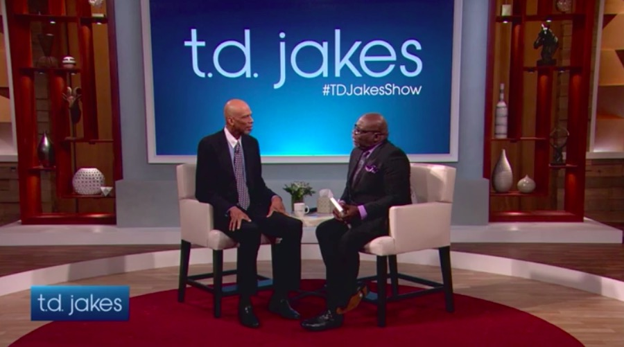 Wednesday February 22 Watch Kareem Abdul-Jabbar on The T.D. Jakes Show (VIDEO)