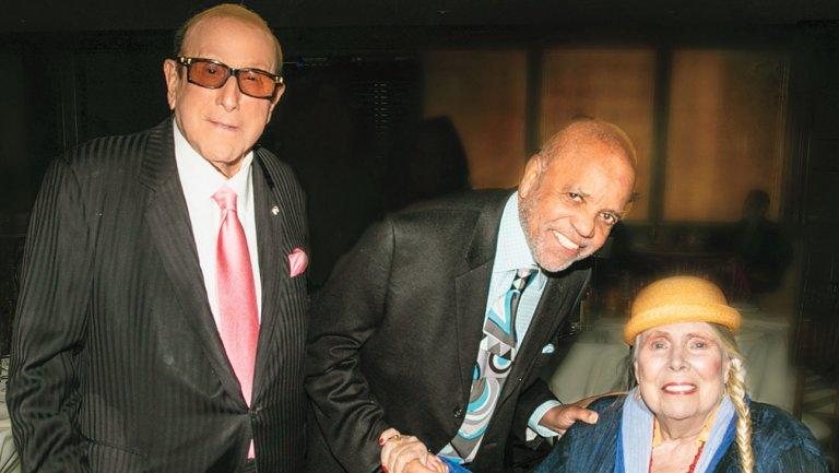 Inside Clive Davis' 'Aretha!' Screening With Joni Mitchell and Kareem Abdul-Jabbar