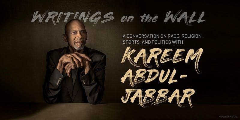 May 1, 2019 - An Evening with Kareem Abdul-Jabbar