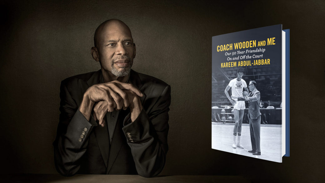 NPR Author Interviews - Kareem Abdul-Jabbar Writes About His Friendship With Coach Wooden (AUDIO)